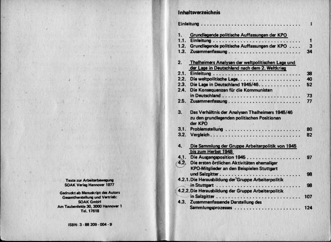 Kpw Kommunistische Politik Nach 1945 Gruppe Arbeiterpolitik